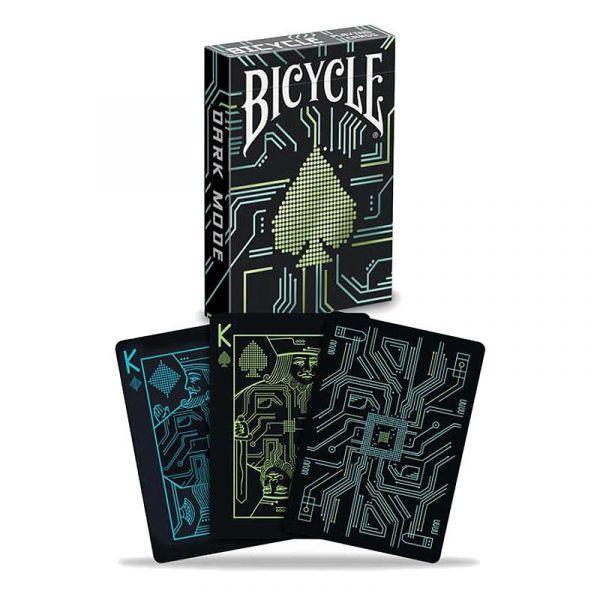 Bicycle - Dark Mode Playing Cards